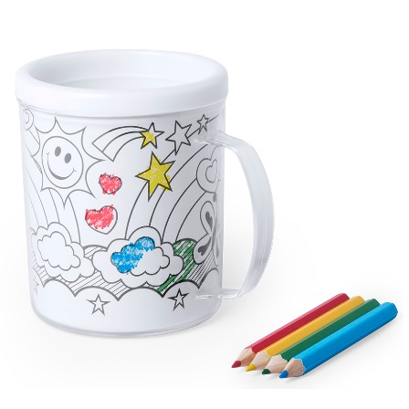 taza para pintar