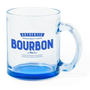 taza trasparente