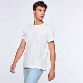 camiseta algodon100 170g-blanco