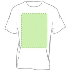 camiseta marcada