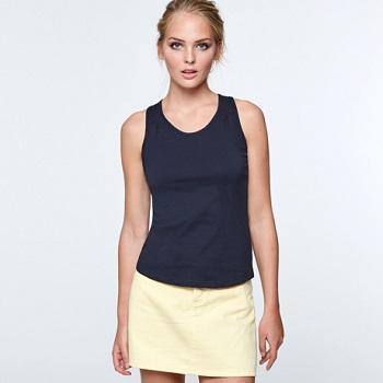camiseta tirantes mujer algodon95